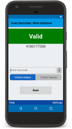 BarcodeChecker app for Android and iOS: Scan and check